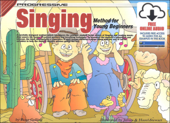 Singing for Young Beginners with Online Audio