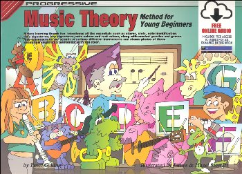 Progressive Theory for Young Beginners Book with CD