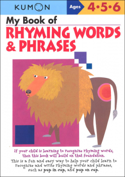 My Book of Rhyming Words & Phrases (Gr PK-1)