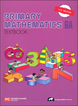 Primary Math US 6A Textbook