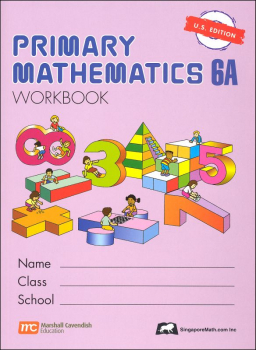 Primary Math US 6A Workbook