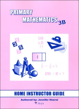 Primary Math US 3B Home Instructor Guide
