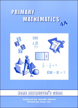 Primary Math US 4A Home Instructor Guide