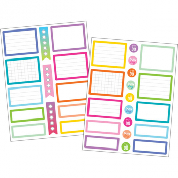 Planner Stickers - Colorful Labels