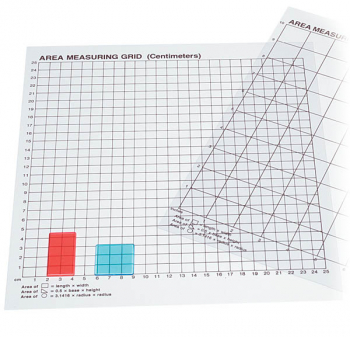 Centimeter Graph Grid (single) Transparent