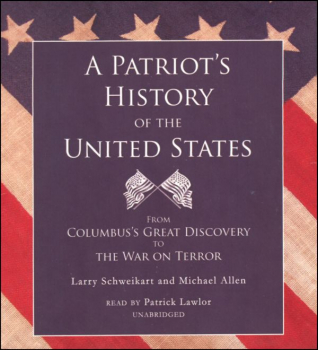 Patriot's History of the United States Audio CD