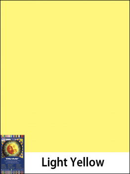 "Construction Paper Fade-Resistant 9"" x 12"" Light Yellow"