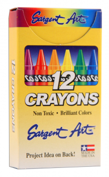 Crayons - 12 in box