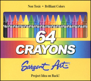 Crayons - 64 in box