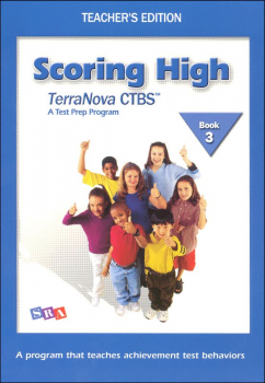 Scoring High CTBS/Terra Nova Book 3 Teacher