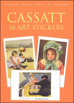 Cassatt 16 Art Stickers