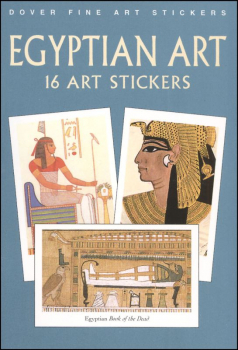 Egyptian Art 16 Art Stickers