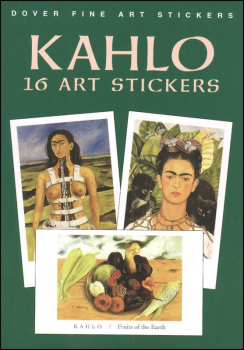 Kahlo 16 Art Stickers