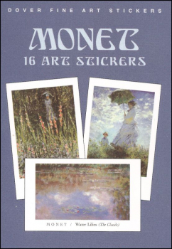 Monet 16 Art Stickers