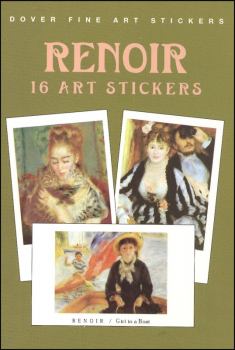 Renoir 16 Art Stickers