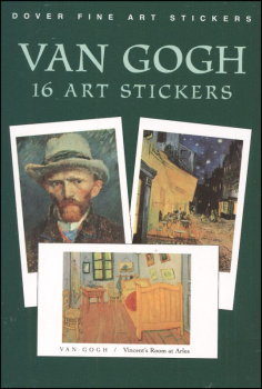Van Gogh 16 Art Stickers