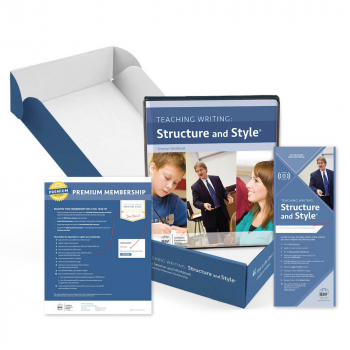 Teaching Writing: Structure and Style (Forever Streaming, Seminar Workbook, Premium Membership)