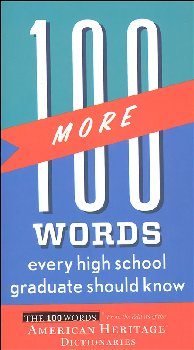 100 More Words Every High School Graduate Should Know