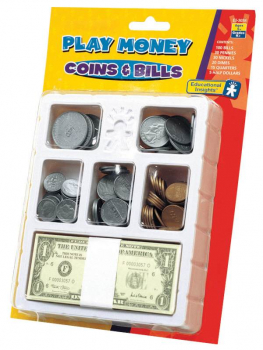 Play Money: Coins & Bills