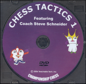 Chess Tactics 1 DVD