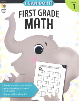 Math Puzzlers: First Grade (Stick Kids Workbooks)