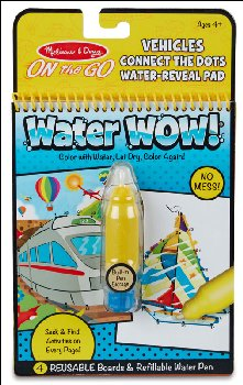 Water Wow! Connect the Dots - Vehicles