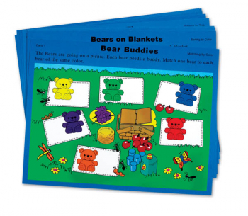Three Bear Family Sorting Activity Cards
