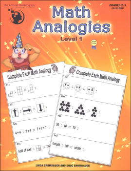 Math Analogies - Level 1
