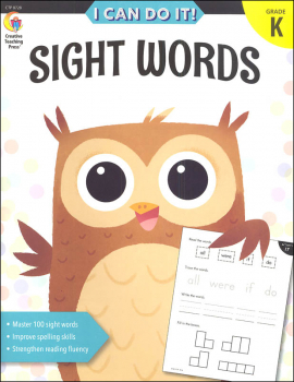 Sight Words: Kindergarten (Stick Kids Workbooks)