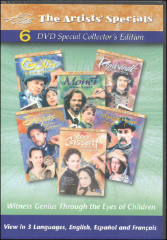 Artists' Special DVD Set of 6
