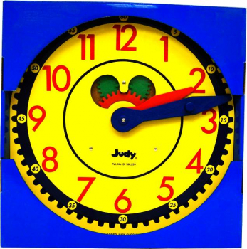 Judy Clock - Color-Coded