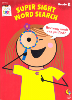 Super Sight Word Search (Stick Kids Workbooks)