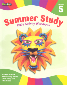 Summer Study: Daily Activities Workbook Gr.5
