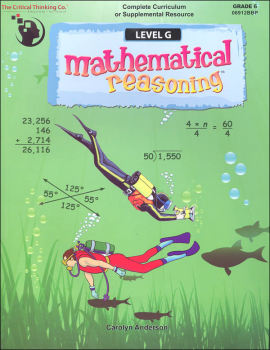 Mathematical Reasoning Level G (Gr. 6)