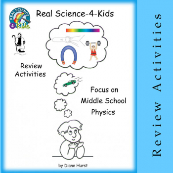 Real Science-4-Kids Review Activities for Focus on Middle School Physics CD