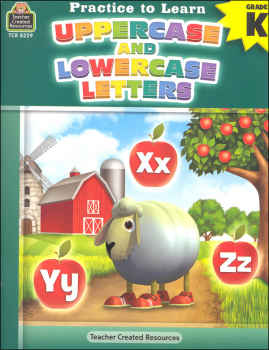 Upper and Lowercase Letters (Practice to Learn)