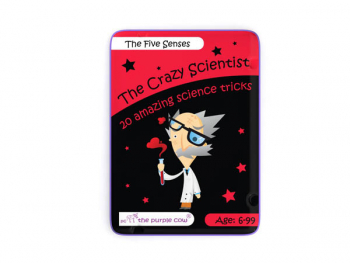 Five Senses Activity Cards (The Crazy Scientist)