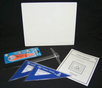 Basic Drawing Board Geometry Set