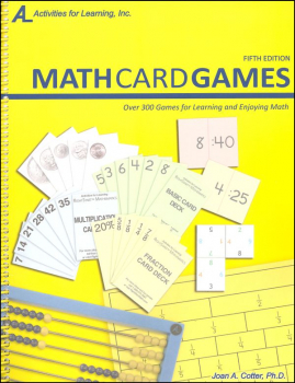 Math Card Games Book Only