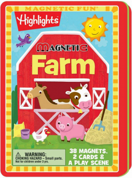 Magnetic Highlights Farm Tin