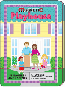 Magnetic Playhouse Tin