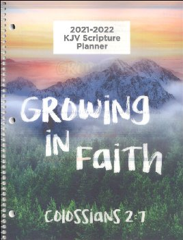Student Scripture Planner KJV Large Elementary & Middle School August 2020 - July 2021