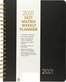 2021 Dot Matrix Weekly Planner