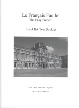 Easy French Level 2A Test Booklet