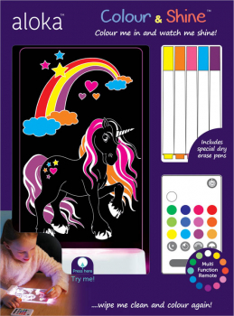 Color & Shine Lights: Magic Unicorn