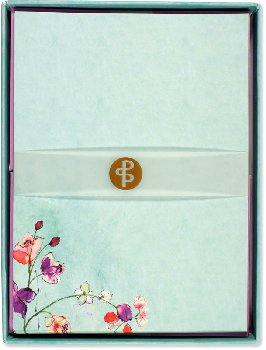 Fuchsia Blooms Boxed Stationery