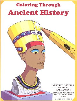BiblioPlan Ancient History Coloring Book, 2nd Edition