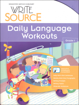 Write Source (2012 Edition) Grade 1 Daily Language Workouts