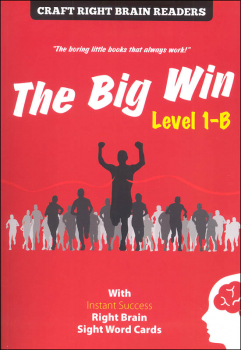 Big Win Level 1-B (Craft Right Brain Readers and Cards)
