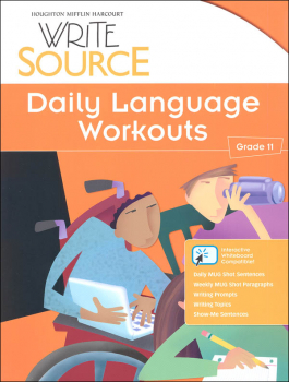 Write Source (2012 Edition) Grade 11 Daily Language Workouts